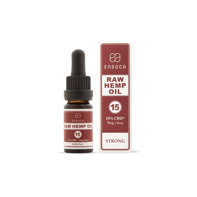 CBD-Hanföl Raw 15% CBD (1500mg)