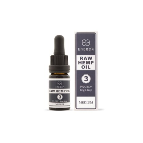 CBD-Hanföl Raw 3% CBD (300mg)