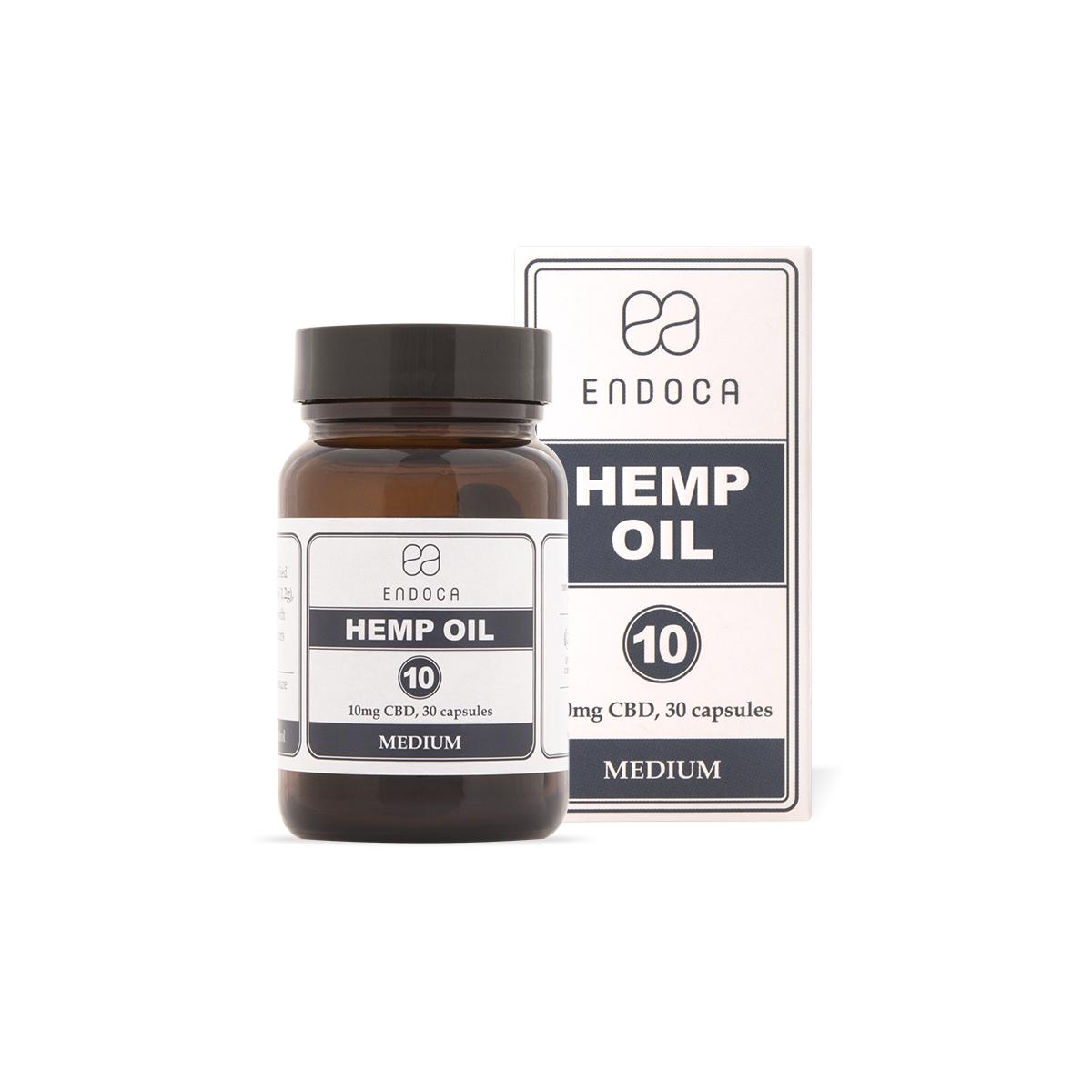 Endoca CBD-Kapseln Decarb 3% CBD (300mg)