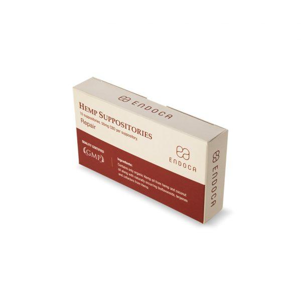 Endoca CBD-Zäpfchen ‒ 500 mg CBD