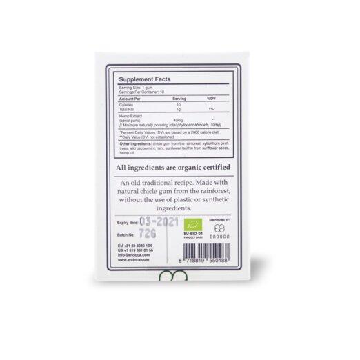 CBD-Kaugummi ‒ 100 mg CBD
