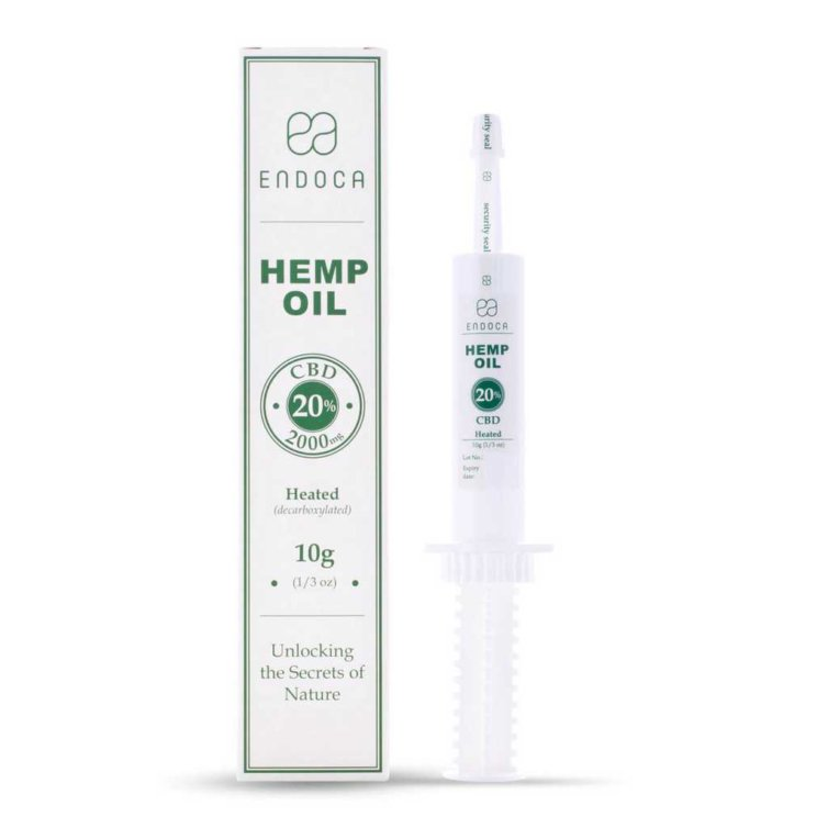 CBD-Paste Decarb 20% CBD (2000mg)
