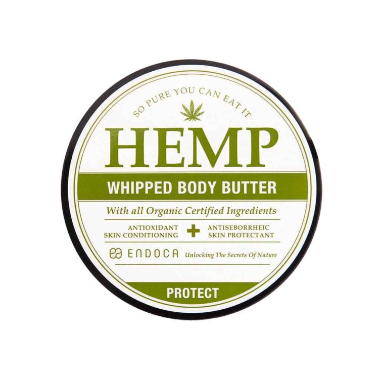 Vispat body butter med hampa – 1 500 mg CBD