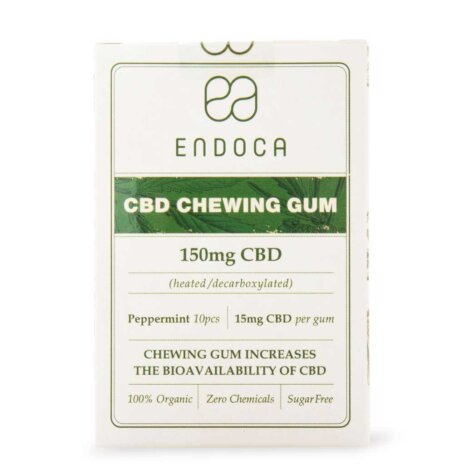 Chicles de CBD – 150 mg de CBD