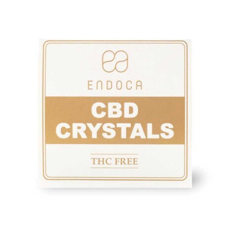 Cristales de CBD 99% ‒ 500 mg de CBD